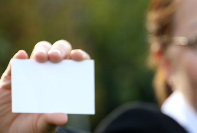 עיצוב כרטיסי ביקור מקצועי